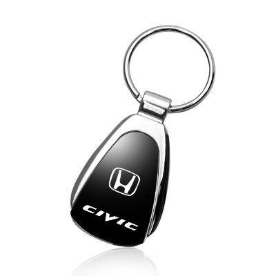 honda-civic-black-tear-drop-key-chain