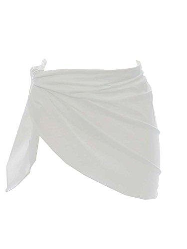 Pareo Carla-Bikini Perfect Sandbar Bianco Bianco