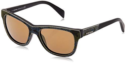 Diesel Unisex-Erwachsene DL0111 5298G Sonnenbrille, Mehrfarbig, 52