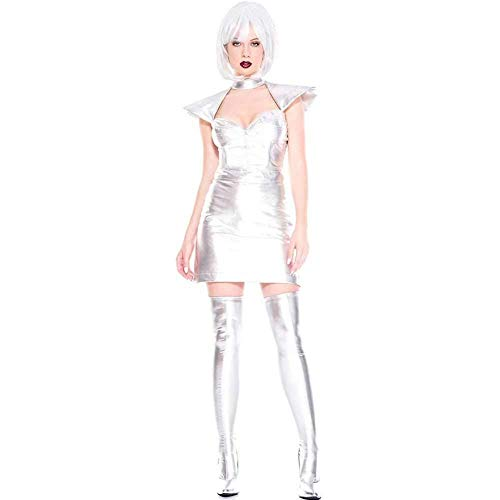 GWNJSSX Sexy Spion Frauen Kostüm-Halloween Nacht Dress Cosplay Dress Party Fuß Abdeckung and - Werwolf Kostüm Füße