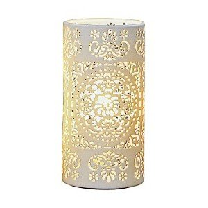 Lampe shari porcelaine