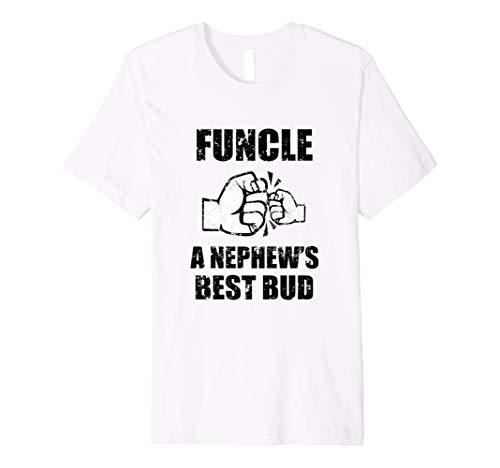 8d5bbc9c Herren Herren funcle Definition A Nephew 's Best Bud – Funny Uncle Shirt