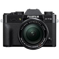 Fuji XT10 (Black) with 18-55mm Lens (Black)