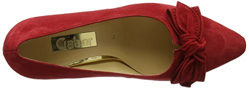 Gabor Shoes Damen Fashion Pumps 65.154 Rot (rosso 15)
