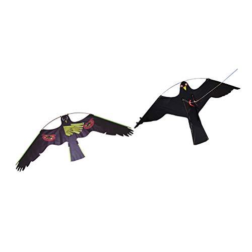 FLAMEER 2 Stück Falke Adler Drachenschnur Taubenschreck