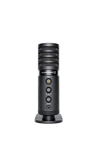 beyerdynamic professionelles FOX USB Mikrofon für Heimstudios und unterwegs Großmembran-Kondensator-Kapsel mit Nierencharakteristik