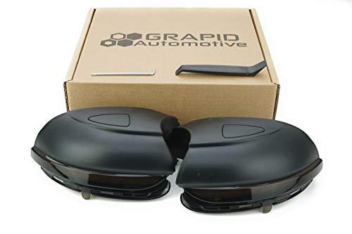 Dynamische LED Spiegelblinker für Golf VI, Touran, etc. (Dunkles Glas)
