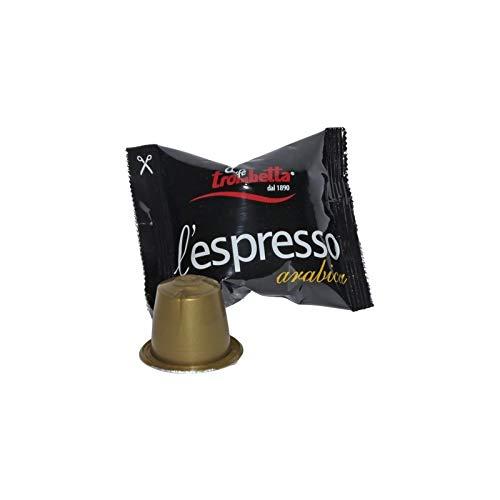 300 capsule compatibili nespresso trombetta arabica