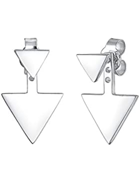 Elli Damen-Ohrstecker Dreieck Geo 925 Silber