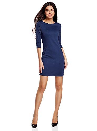 oodji-collection-mujer-vestido-de-punto-de-manga-3-4-azul-es-36-xs