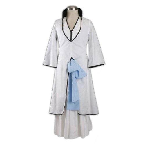 Dream2Reality japanische Anime Bleach Cosplay Kostuem - Ichimaru Gin Arrancar 2nd Ver Kid Size Large