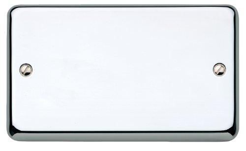 MK Chroma Plus k3329pcr Objektbereich Abdeckplatte 2 Gang Blank Plate