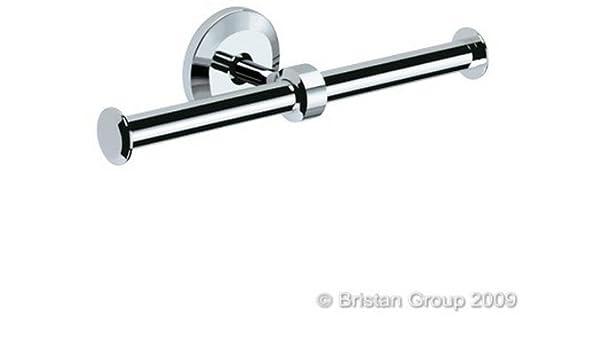 Bristan Solo Double Toilet Roll Holder