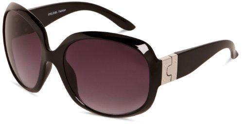 Eyelevel Damen Sonnenbrille  Oversized  - Schwarz - Black - Einheitsgröße