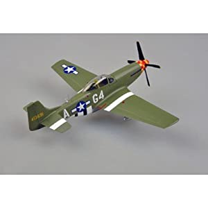Fácil Modelo 39304 - Modelo prefabricado P-51D 362FS, 357FG Arval J.Roberson 1.944