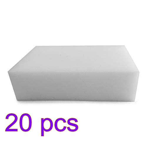 Price comparison product image Nordvpn Magic Cleaning Eraser Sponge Melamine Foam 90 x 60 x 30 mm (Pack of 20)