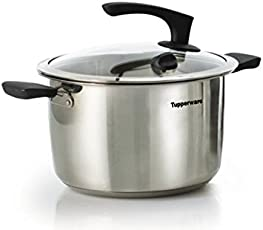 Tupperware Inspire Series Stainless Steel Casserole with Lid