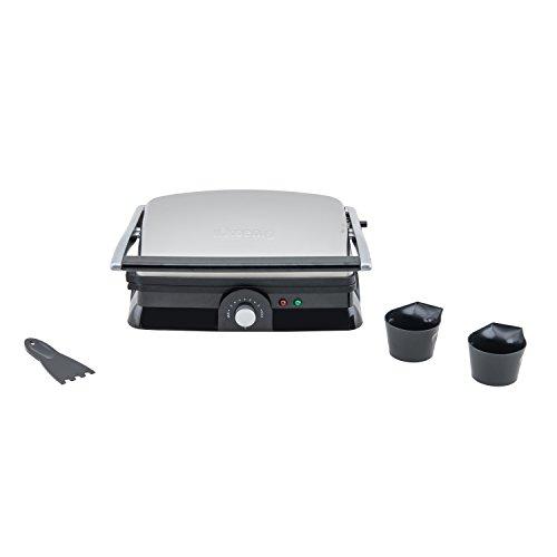 confronta il prezzo H.Koenig GR20 Bistecchiera e Panini Maker,  Grill in Acciaio Inossidabile miglior prezzo