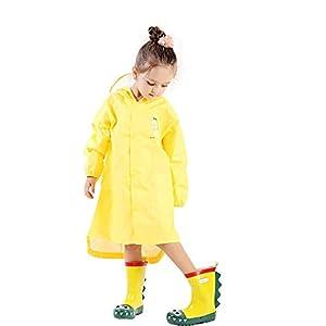 catmoew Baby Kleidung (4T-7T) Dinosaurier Regenmantel Mädchen Kleidung Junge Kleidung 3D Stereo Aufbewahrungstasche Reißverschluss Wasserdicht Tape Poncho