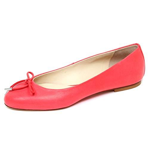 ANNA BAIGUERA F4164 Ballerina Donna Pink Geranium Vintage Effect Shoe Woman [36]
