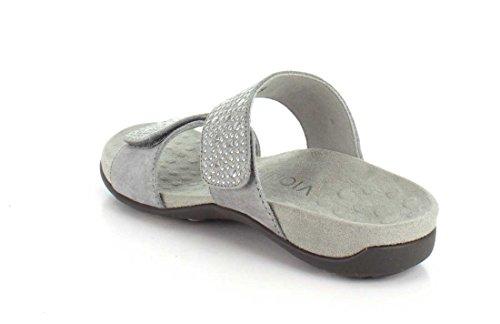 Vionic Womens 341 Rest Samoa Leather Sandals Étain