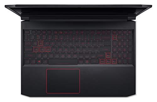 Acer Nitro 7 Intel Core i5-9300H Processor 15.6-inch Thin & Light Gaming 1920 X 1080 Laptop (8GB RAM/ 256GB SSD + 1TB HDD/ Win 10 / 4GB NVIDIA GeForce GTX 1650/Obsidian Black/ 2.5 kgs), AN715-51 Image 3