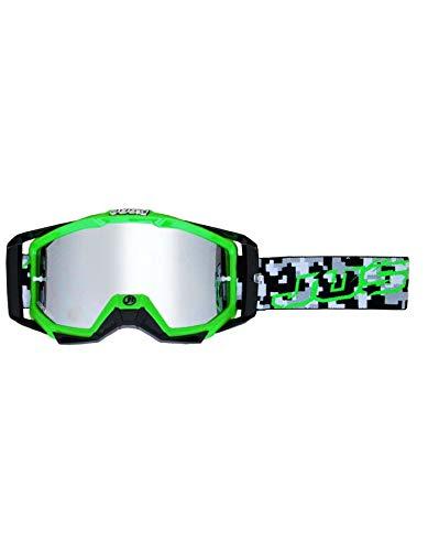 Occhiali da moto–per casco–Protezione occhi Just1Iris Hulk
