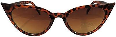 Vintage 1950estilo 50s de ojo de gato gafas de sol UV400mujer Retro Fashion