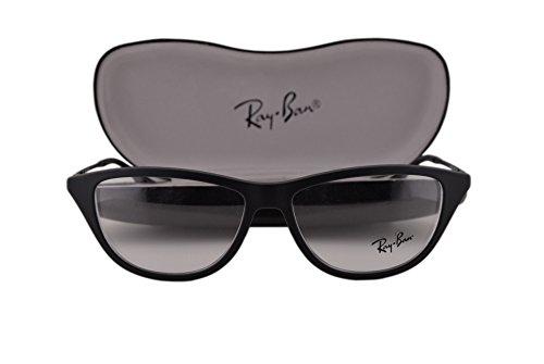 Ray-Ban unisex-adult RX7042 Brillen 52-14-140 5364 RB7042 Gummi Schwarz groß