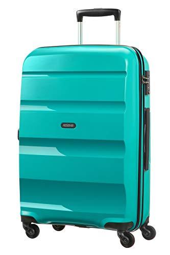 American Tourister Bon Air Spinner Valigia 66 Cm, 58 L, Verde (Deep Turquoise)