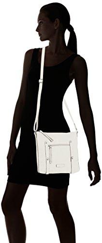 Tamaris Rene Crossbody Bag, Sacs bandoulière Blanc - Blanc (100)