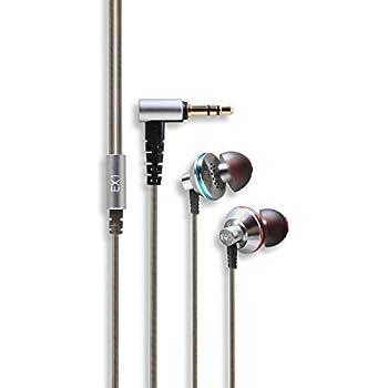 Fiio EX1 In-Ear Earphones (Silver/Black)