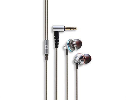Fiio EX1 In-Ear Earphones (Silver/Black)