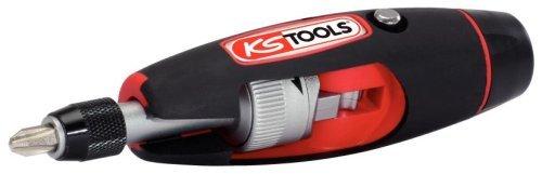 "KS Tools 911.2475 1/4\"" T-Griff Ratschen-Bit-Schraubendreher, 7-tlg."