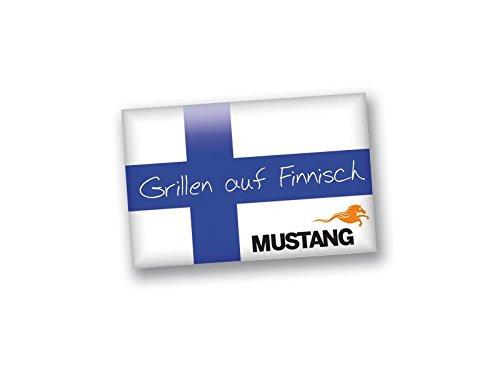 31TYX zQQwL - 3x Mustang Einweggrill Mini BBQ Grill 22x27x5cm