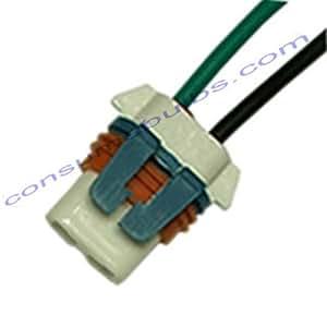 Support en céramique Ampoule 9005HB3Câble droit sortie (bh009)