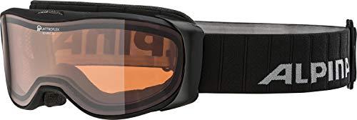 Alpina Erwachsene Skibrille Bonfire 2.0 QH black matt, One Size