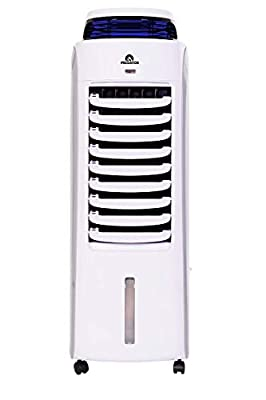 GLAZIAR Predator 35 | Portable Evaporative Air Cooler | Up to 35m2 / 375 sq.ft | Anti-Insects | Quiet Operation, 3 Speed Settings, BOOST Mode | 120W | Water Capacity 13 L / 455 oz.