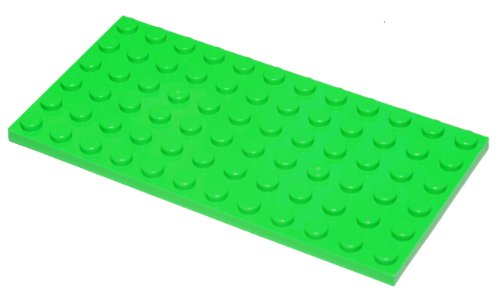 LEGO 1 Platte 6x12 Mittel-Grün (3027) Platten Ersatzteile -