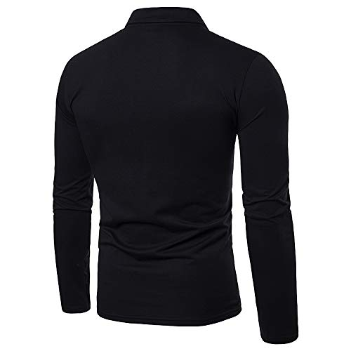 GreatestPAK Herbst Tops Herren Winter Camouflage Printed T-Shirt Langarm Slim Bluse