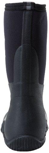 Muck stivali Hoser Classic Mid unisex impermeabile stivali nero Black
