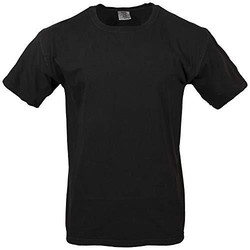 Beta-schwarzes T-shirt (Comfort Colors Herren Adult Tee T-Shirt, schwarz, 4X-Groß)
