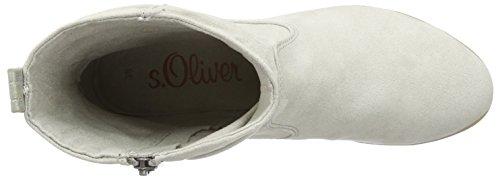 s.Oliver 25304, Bottes Classiques Femme Gris (Quartz 202)
