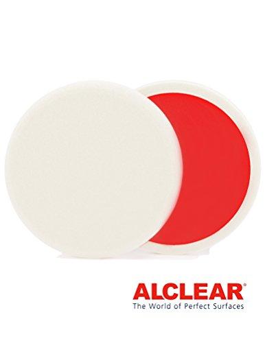 ALCLEAR 5513530H Schleifpad Hart, 135 x 25 mm, weiß ,2er Set