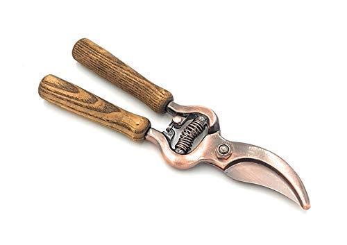 Hochwertig Stark Kupfer Platte Ashwood Griff Garten Pruning Baumschere Gartenschere Schere