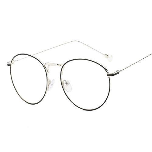 Sonnenbrille Blaues Licht Brille Frauen Imitation Pearl Eingerichteten Computer Silbrig Gläser Anti Hellblau Blockieren Bildschirm Strahlung Flache Schutzbrille