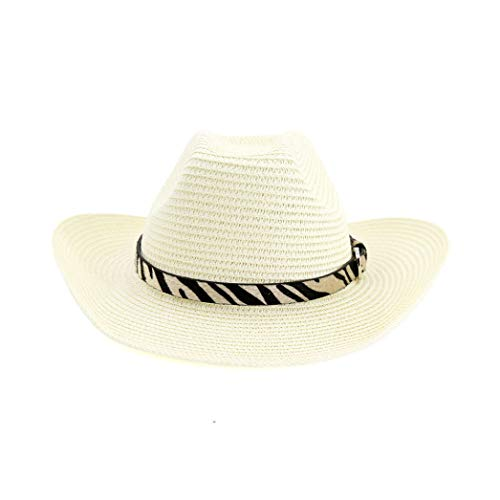 GOUNURE Western Cowboyhut aus Wollfilz mit breiter Krempe Classic Vintage Outback Fedora Hats Sunhat - Stein Original Twill
