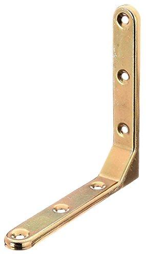 Konstruktionswinkel Witterungsbeständiger, gelb verzinkter Stahl