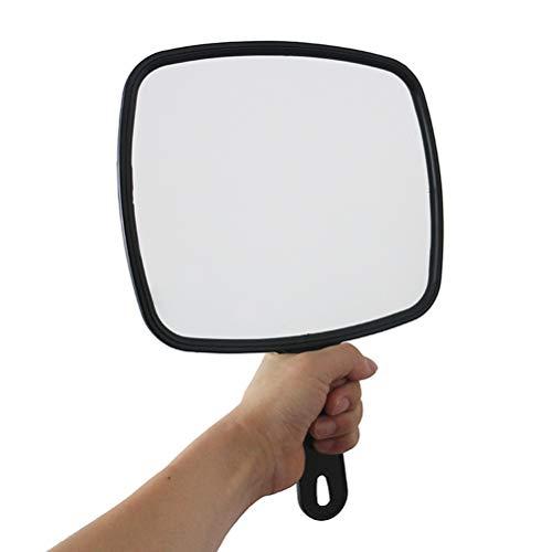Miroir de coiffure à main professionnel de style professionnel de maquillage de miroir de vanité de style salon professionnel, 8 pièces