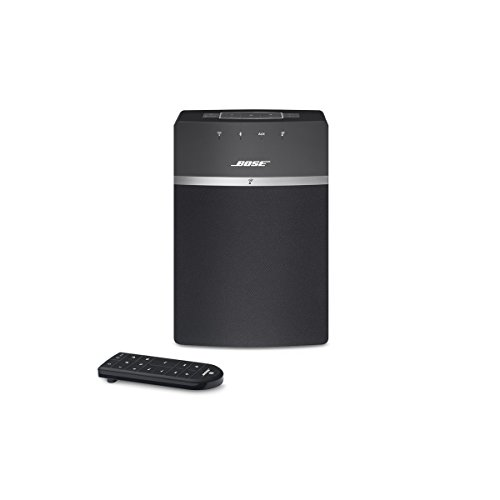 Bose SoundTouch 10 Wireless (Bluetooth/Wi-Fi) Speaker System - Black - works with Alexa